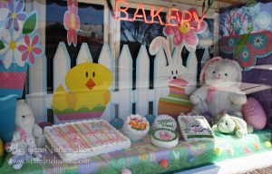 Fingerhut Bakery in North Judson, Indiana: Front Window