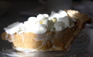 Good Table Family Restaurant in Kentland, Indiana: Pumpkin Pie