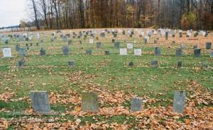 Nappanee, Indiana: Amish Cemetery