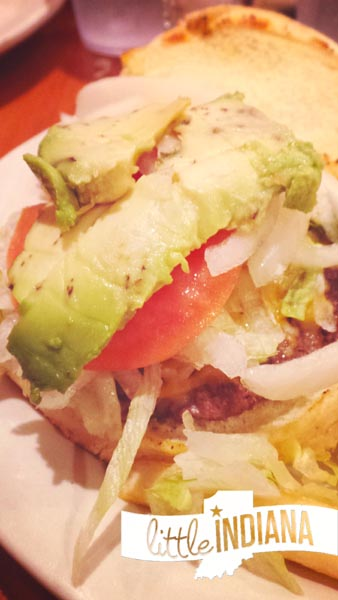 Ayda's Authentic Mexican Cuisine in Rensselaer, Indiana: Mexican Cheeseburger