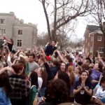 Butler University Students Chant Final Four