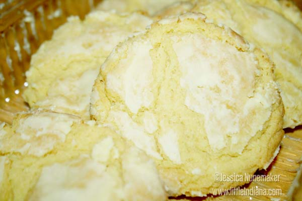 Flour Mill Bakery in Rossville, Indiana Lemon Cookies
