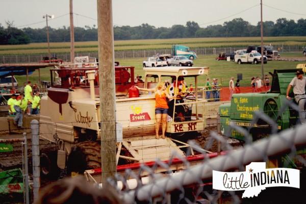 Jasper County Fair Demolition Derby Marriage Proposal