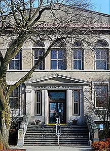 Newton County Courthouse in Kentland, Indiana