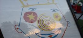Neighborhood circus in small town Indiana