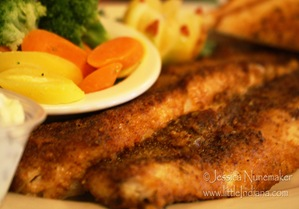 Mulberry, Indiana: Roberts' Southfork Restaurant and Pub Blackened Walleye