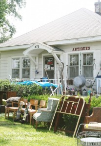 Empty Nest Antiques and Collectibles in Medaryville. Indiana