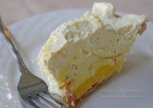 Lowell, Indiana: Cornerstone Mansion Restaurant Lemon Silk Pie