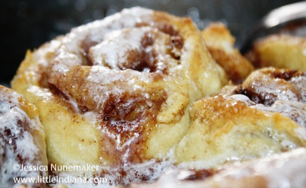 Cinnamon Rolls No Rising And No Yeast Recipe Little Indiana