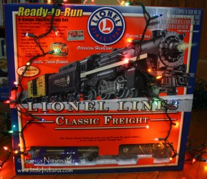 Spike's Railhead in Lowell, Indiana Train Set for one lucky little Indiana fan!