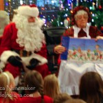 Story Time with Santa Claus at Santa's Lodge in Santa Claus, Indiana