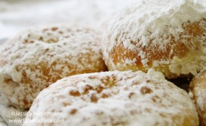 Clauss Bakery and Cafe in Rensselaer, Indiana: Paczki Day