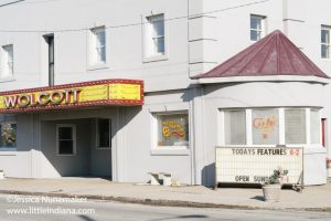 Wolcott Theater Cafe in Wolcott, Indiana