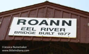 Roann, Indiana Eel River Covered Bridge