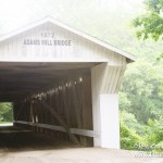 Adams Mill Bridge in Cutler, Indiana