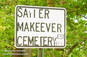 Sayler Makeever Cemetery in Rensselaer, Indiana
