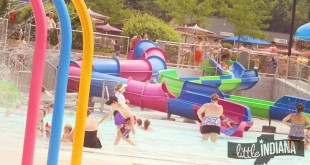 Holiday World and Splashing Safari in Santa Claus, Indiana