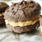 Chocolate Peanut Butter Whoopie Pie