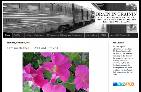 Indiana Blogs: Brain in Trainin