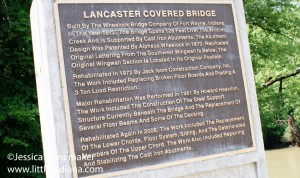 Lancaster Bridge in Owasco, Indiana