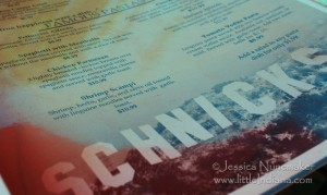 Wheatfield, Indiana: Schnick's Good Eats Menu