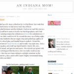 Indiana Blogs: Indiana Mom