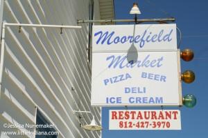 Moorefield Market in Moorefield, Indiana