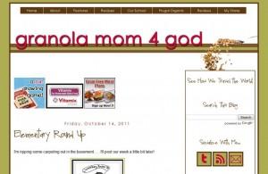 Indiana Blogs: Granola Mom 4 God