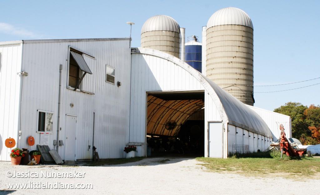 Jones Robotic Dairy in Star City, Indiana