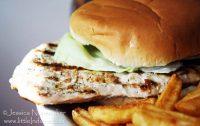 Journey's End in Bourbon, Indiana Pork Tenderloin Sandwich