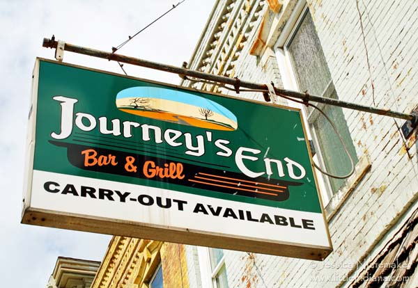 Journey's End in Bourbon, Indiana Exterior Sign