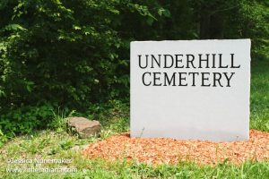 Underhill Cemetery in Saint Croix, Indiana