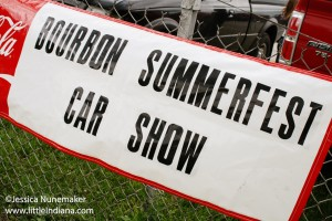 Bourbon Summmer Fest Car Show in Bourbon, Indiana