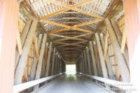 Busching Covered Bridge in Versailles, Indiana