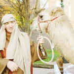 Christmas on the Square in Danville, Indiana Live Nativity Scene