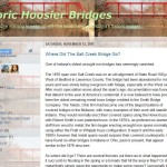 Indiana Blogs: Historic Hoosier Bridges