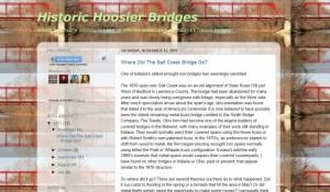 Indiana Blogs: Historic Hoosier Bridges