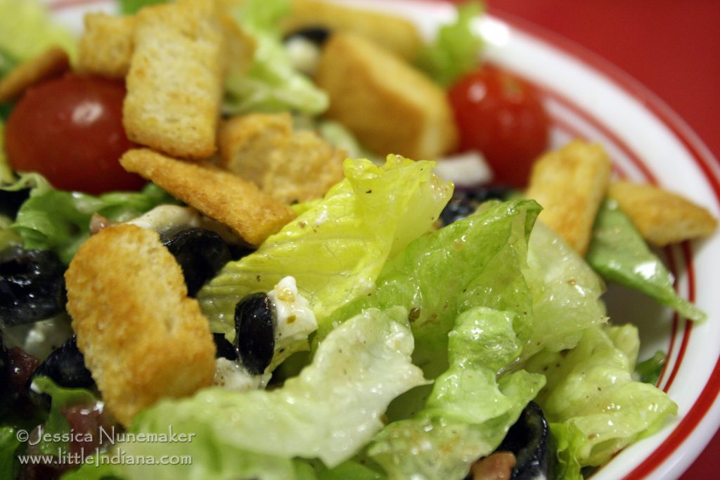 Leavenworth, Indiana: Stephenson's General Store Greek Salad