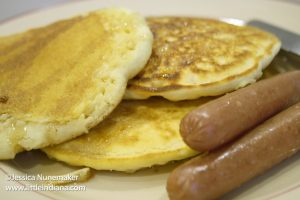 Trinity United Methodist Church Pancake Breakfast in Rockport, Indiana