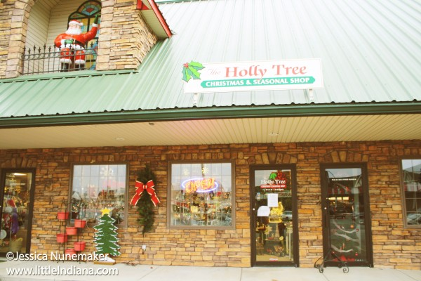 Holly Tree Christmas and Seasonal Shop in Santa Claus, Indiana