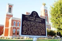 Decatur County Courthouse Tree in Greensburg, Indiana