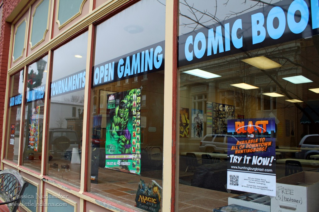 Huntingburg, Indiana: Game Knight
