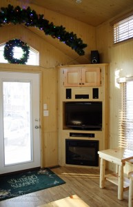 Lake Rudolph Campground and RV Resort Christmas Cabins in Santa Claus, Indiana