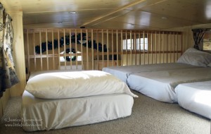 Lake Rudolph Campground and RV Resort Christmas Cabins in Santa Claus, Indiana Loft