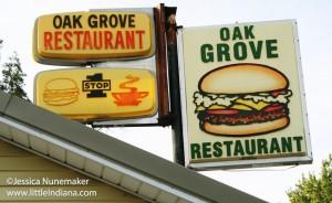 Oak Grove Restaurant in Star City, Indiana