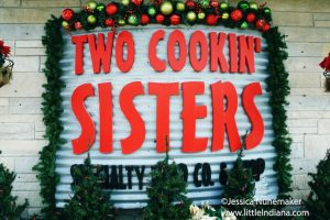Two Cookin' Sisters in Brookston, Indiana