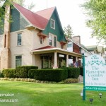 The Homespun Country Inn Bed and Breakfast in Nappanee, Indiana