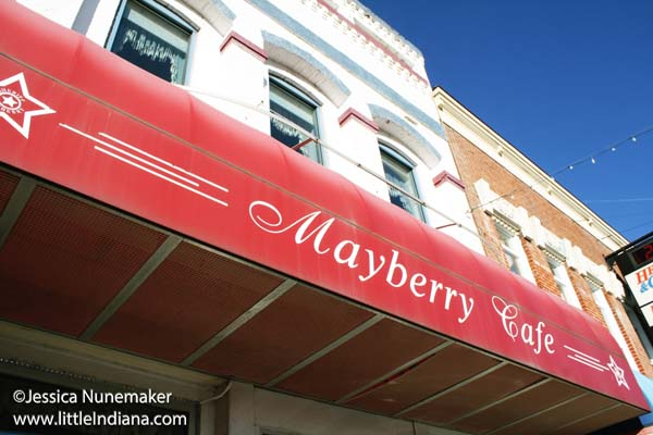 Mayberry  Cafe in Danville, Indiana Exterior