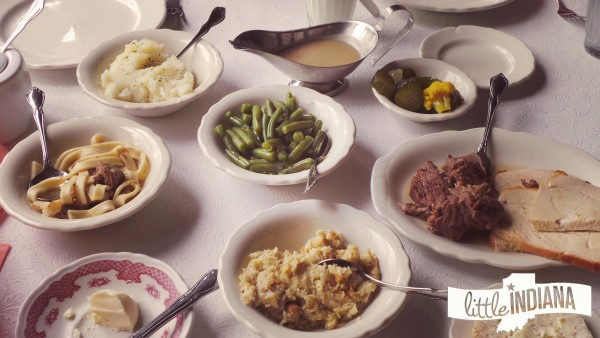 Amish Acres Threshers Dinner in Nappanee, Indiana