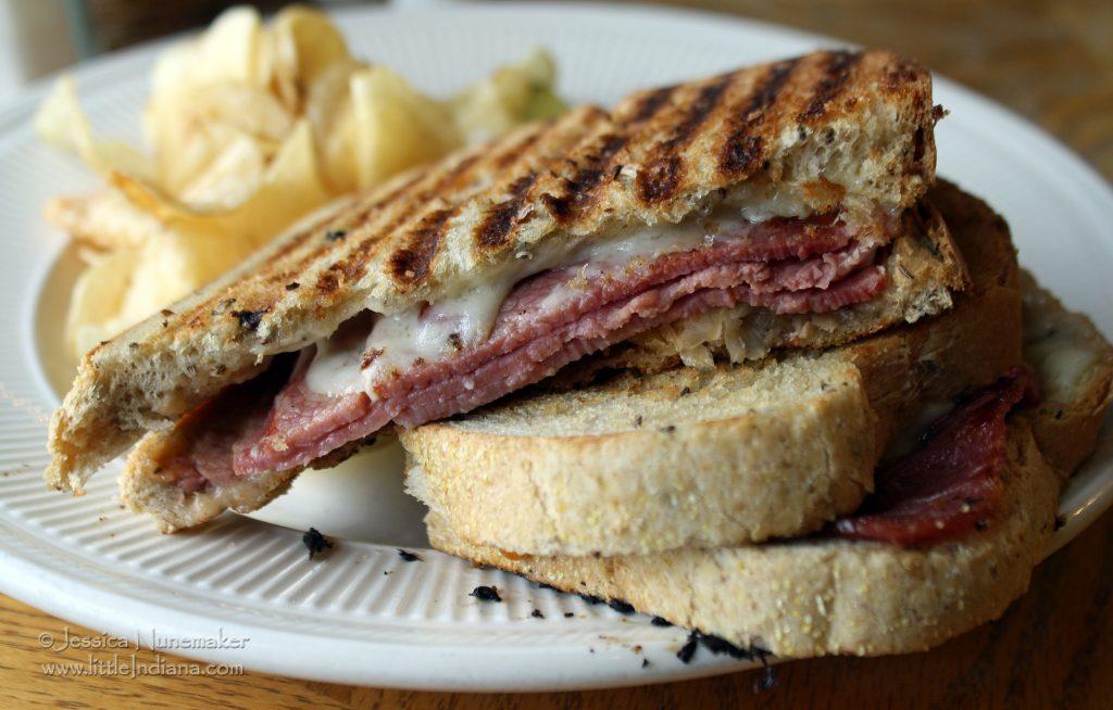 Corner Cup Cafe: Walkerton, Indiana Reuben Sandwich